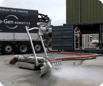 image of regen lorry and robot